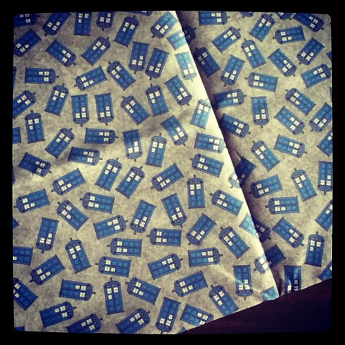 Guys... I'm so excited! #DoctorWho #tardis #geek #craft