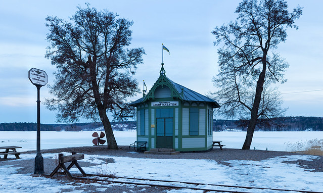 Mariefreds Ångbåtsstation