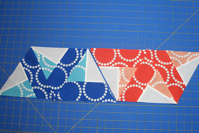 Bloom Bloom Pow: Piecing the Triangles