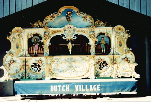 A mechanical music band organ.  The Dutch Village.  Holland Michigan.  September 1986. by Eddie from Chicago