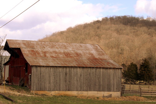 Faded SEE ROCK CITY barn