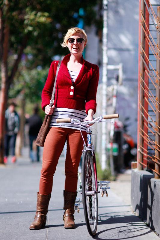 dorothybike street fashion, street style, women, Quick Shots, Valencia Street, San Francisco,