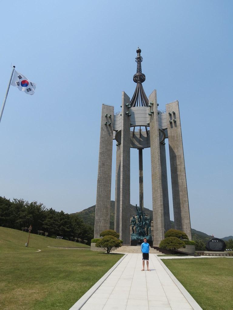 War Memorial, Jungang Park