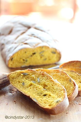 pane zucca con semi