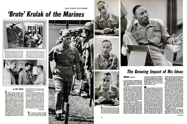 LIFE Magazine April 30, 1965 (2) - 'Brute' Krulak of the Marines
