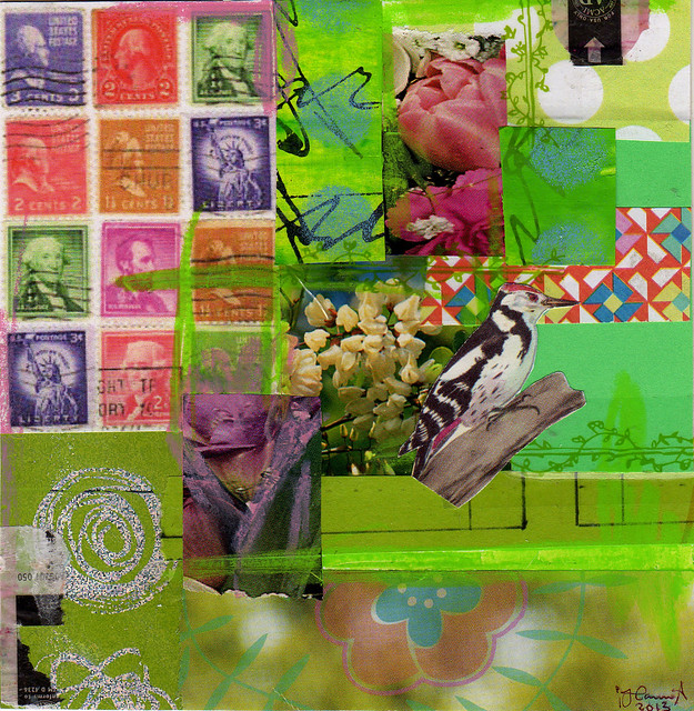 Collage: Flower Peek
