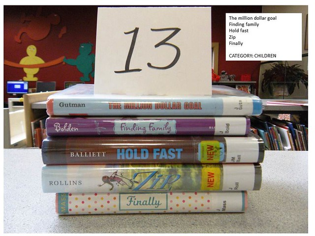 Ocean County Library Barnegat Branch Spine Poetry Contest