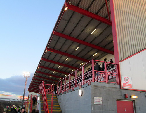 New Douglas Park,Hamilton, Main Stand from Entrance