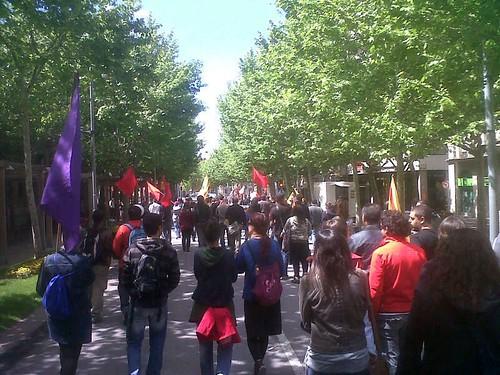 Manifestació #vilafrancadelpenedès 1 maig 2013 #1maig2013 #1maigCGT