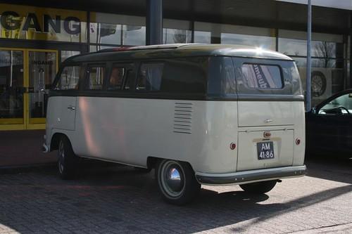 AM-41-86 Volkswagen Transporter kombi 1956