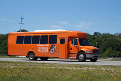 University of Texas of the Permian Basin Falcons Freightliner M2-106 Bus