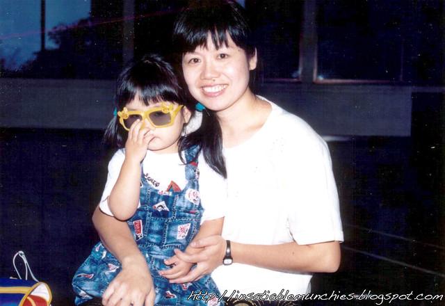 Mum and me
