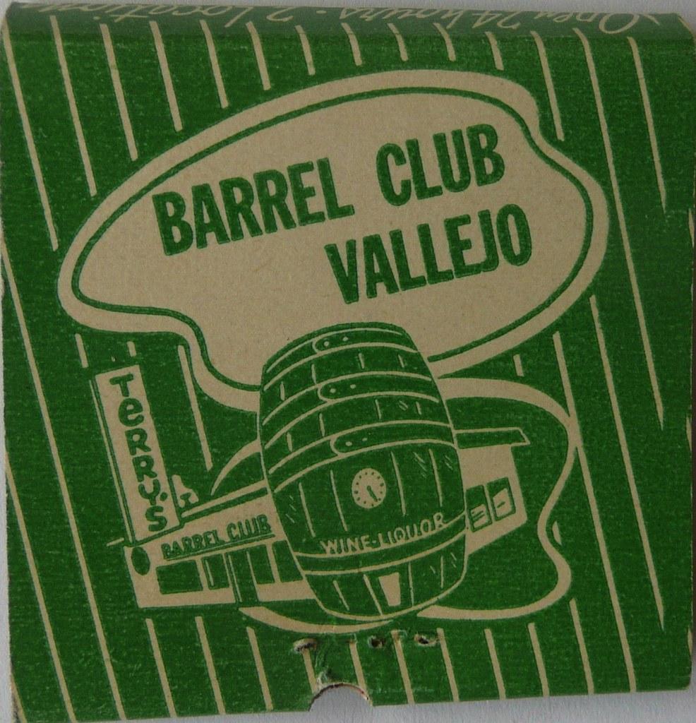 BARREL CLUB VALLEJO CALIF (REAR)
