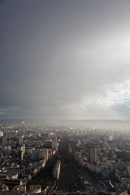 Gare Montparnasse under the rain - Paris