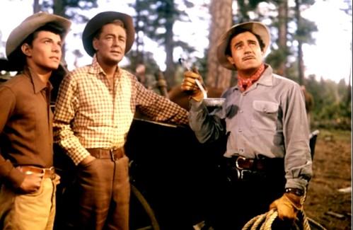 ''Guns of the Timberland'', Frankie Avalon, Alan Ladd , Gilbert Roland (1960)