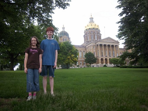 Iowa State Capital by Ben Biddle