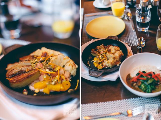Vegan Breakfast @ The Waldorf Astoria Chicago