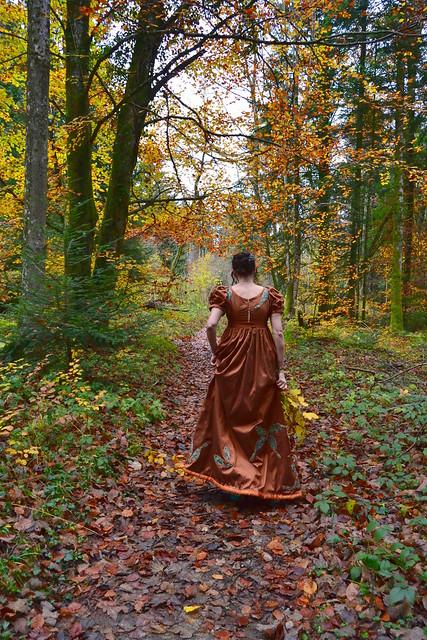 Robe de mariée automne
