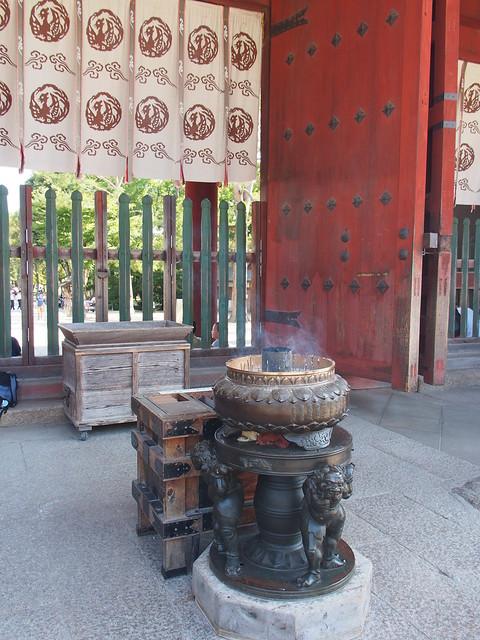 東大寺的香爐