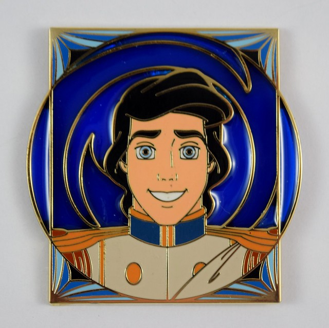 Disney Royalty Limited Release Mystery Pin Collection - Disneyland Purchase - Prince Eric - Closeup Front View