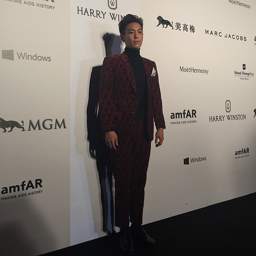 TOP - amfAR Charity Event - Red Carpet - 14mar2015 - numberonepr - 01