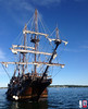 El Galeon arrives in Brockville