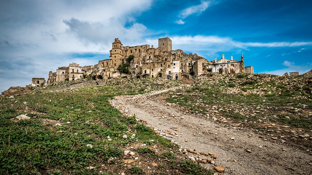 Craco, the ghost town - Matera, Italy - Travel photography