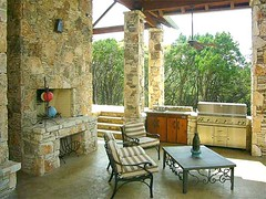 Outdoor Kitchen, Fireplace & Patio Cover
