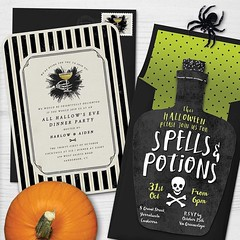 "Repost by @greenvelope:  ""On the hunt for the perfect balance of stylish & spooky? We got you. :jack_o_lantern::ghost: Browse all Halloween via link in profile •  #halloween2016 #halloween #partyinvites (via #InstaRepost @AppsKottage)"