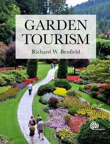 book cover, Garden Tourism by Richard Benfield