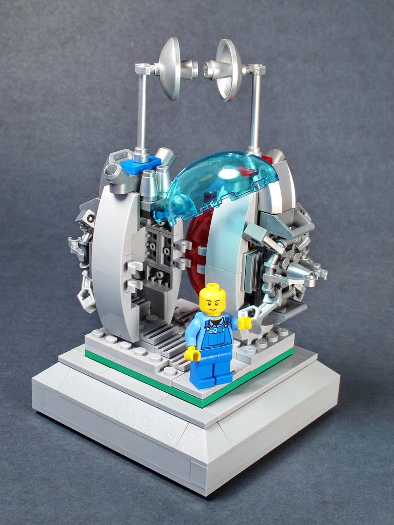 Disintegrator-Integrator Matter Transporter