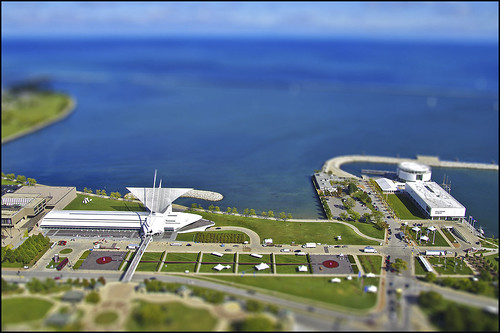 Milwaukee Art Museum & Discovery World - Tiltshift