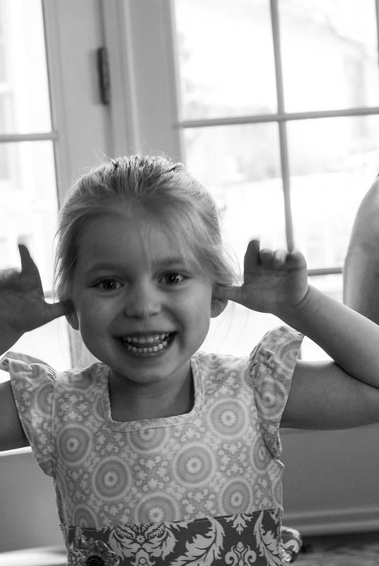 Funny girl, Easter 2013