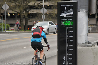 Hawthorne Bridge bike counter hits 1 million-7