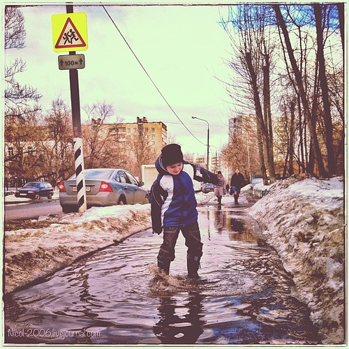 #spring #moscow #russia #children