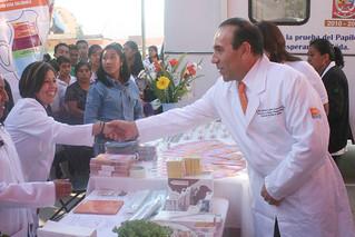 19 DE FEBRERO DE 2012_ Realizan feria de la salud en beneficio de más de cuatro mil habitantes y _0