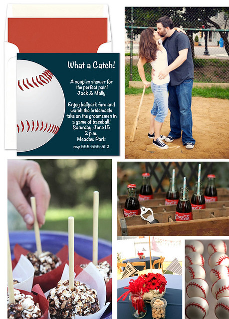 What a Catch!: A Baseball Wedding Shower