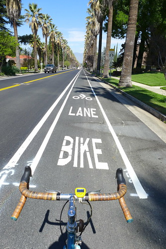 Cajon St. Bike Lane by cyclotourist