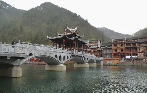 Hunan13-Fenghuang-Ville-Rive Nord (45)