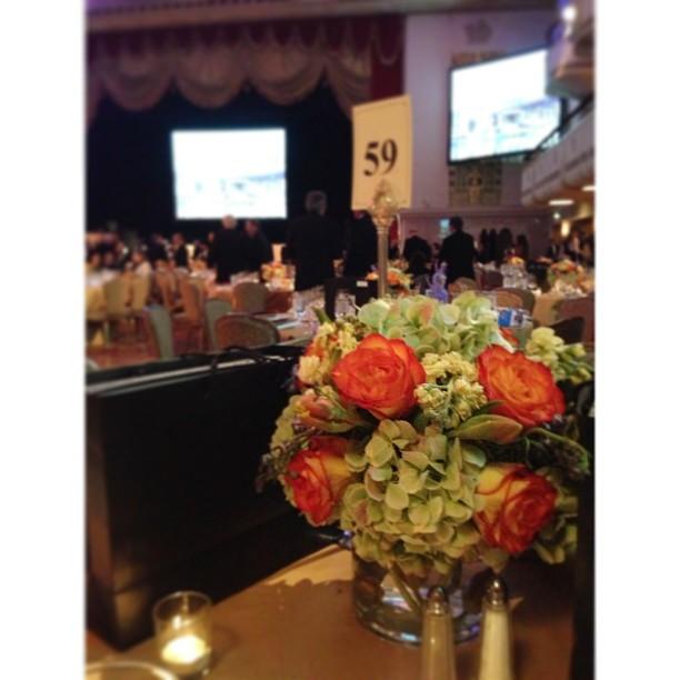 Centerpiece at the Waldorf Astoria. #PicTapGo
