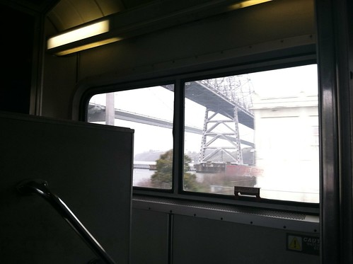 Carquinez Bridge from Amtrak