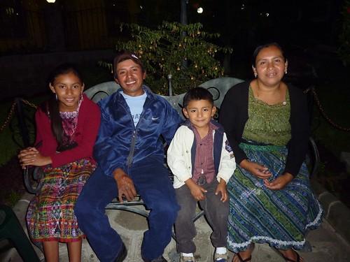 Juana Micaela and family