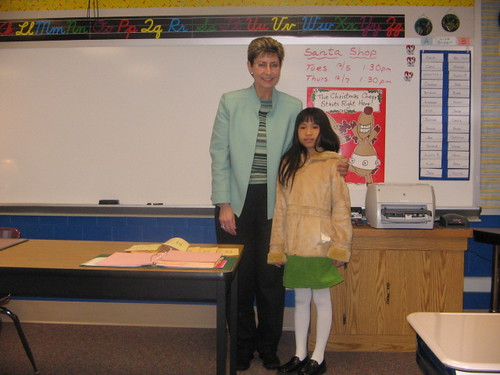 Arden and new teacher