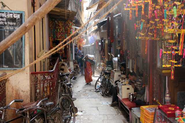 Ancient Alleys and Streets of Varanasi