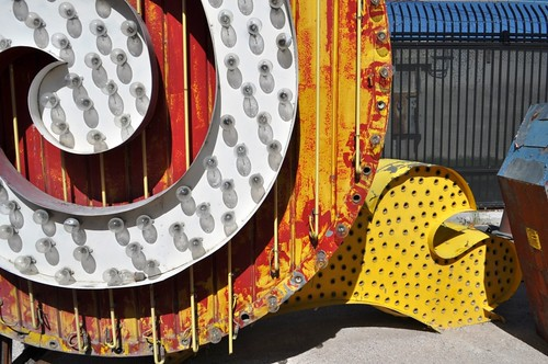 The Neon Museum in Las Vegas is Pretty Quirky!