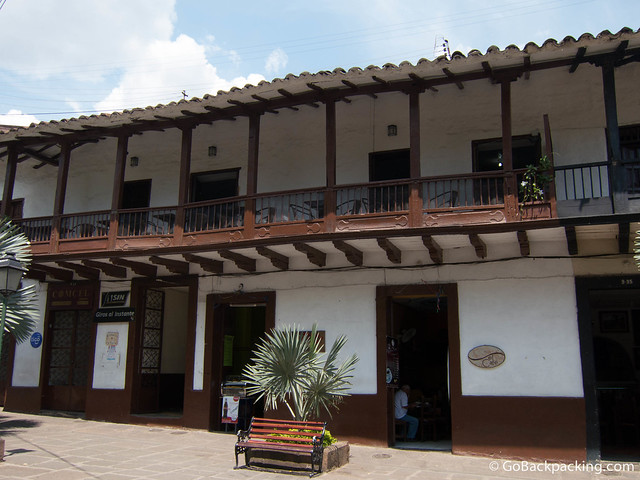 One of my favorite spots, Restaurant La Libertad (on the 2nd floor balcony), has a great view of the main plaza.