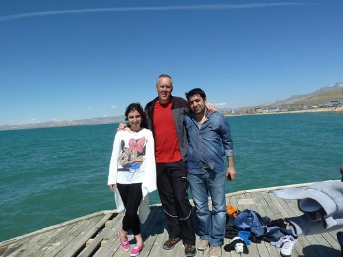 Gül, me, and Salih by mattkrause1969