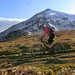 Andrea in the shadow of Skiddaw