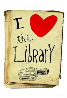 I love the Library graphic
