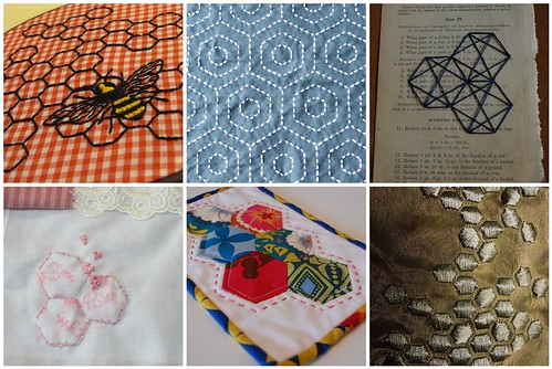 Hexagon Embroidery Inspiration
